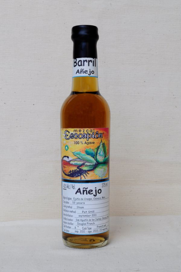 Escorpion Mezcal Barril Anejo