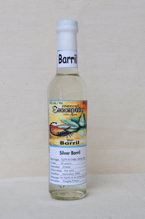 Escorpion Mezcal Barril Silver
