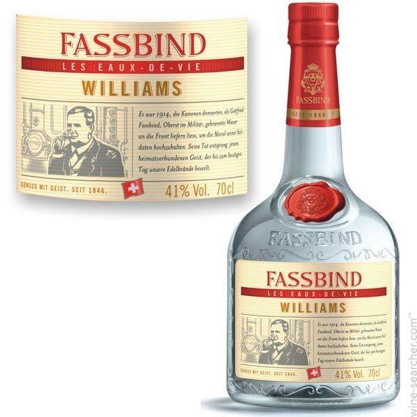 Fassbind les Eaux de Vie Williams Pear Brandy