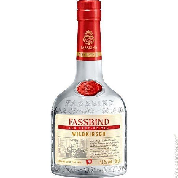 Fassbind Les Eaux de Vie Rigi Kirsch Cherry Brandy
