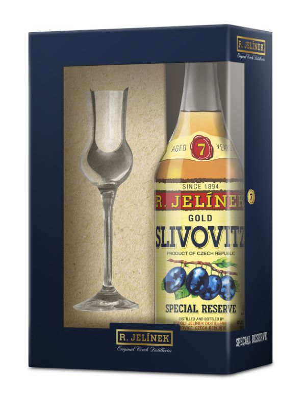 R. Jelinek 7 Yr (Gold) Slivovitz