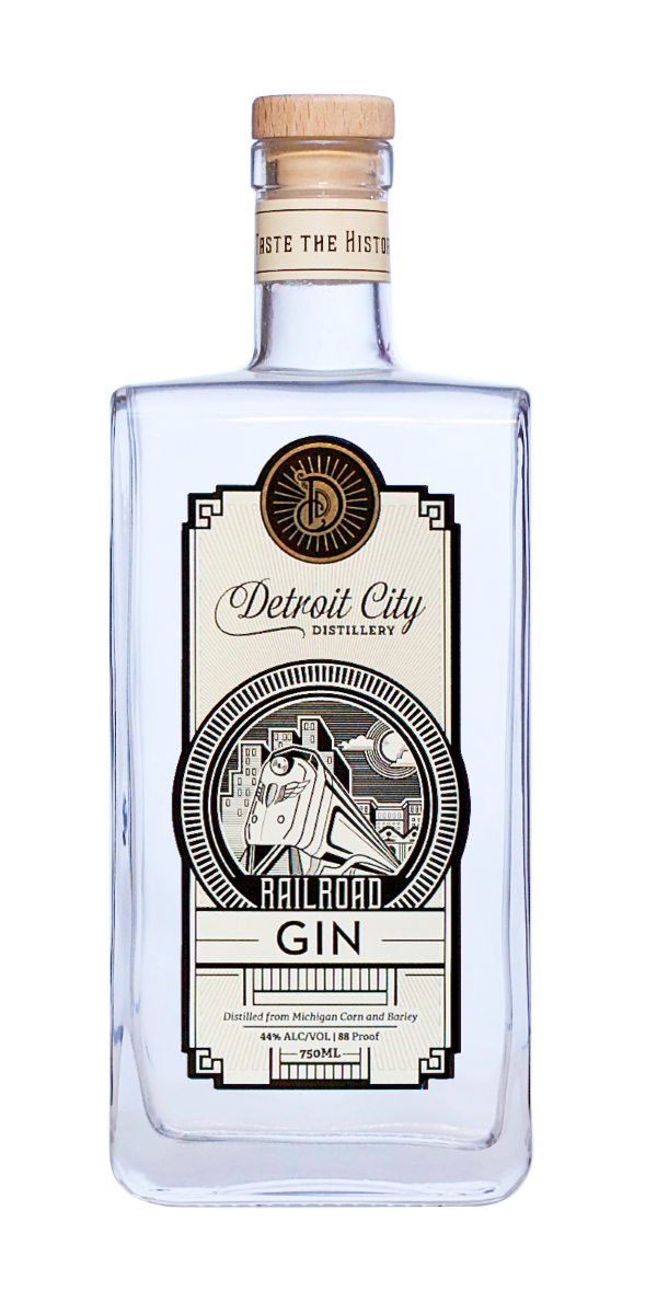 Detroit City Railroad Gin