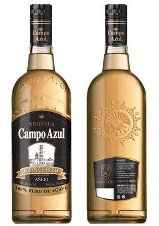 Campo Azul 100% Agave Gran Clasico Anejo Tequila