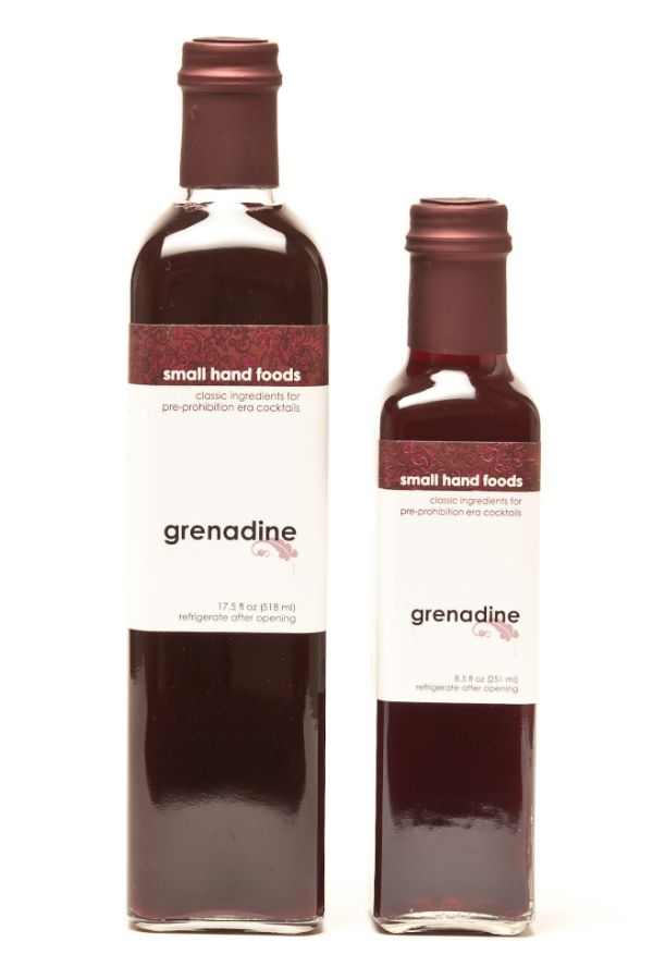 Small Hand Foods Grenadine Syrup