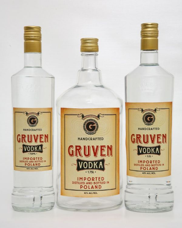Gruven Handcrafted Imported Vodka