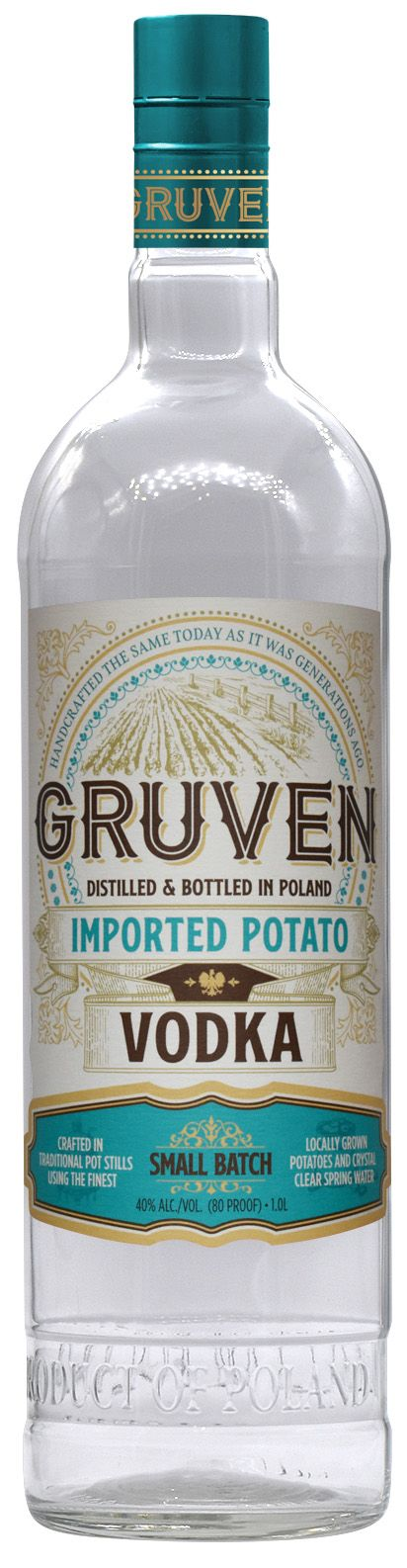 Gruven Handcrafted Potato Vodka