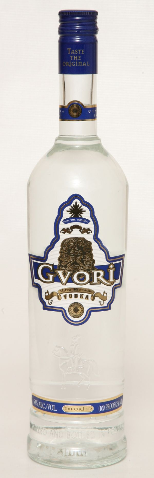 Gvori Blue Label 100 Pf Vodka