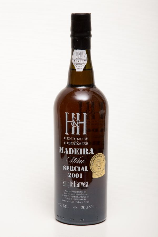 H&H Madeira Sercial 2001 Single Harvest
