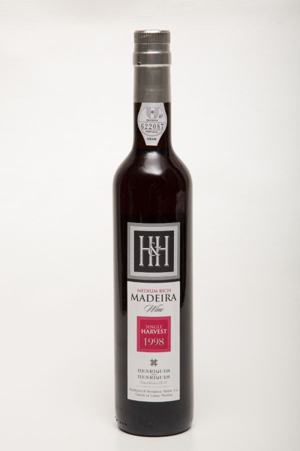 H&H Madeira 1998 Single Harvest