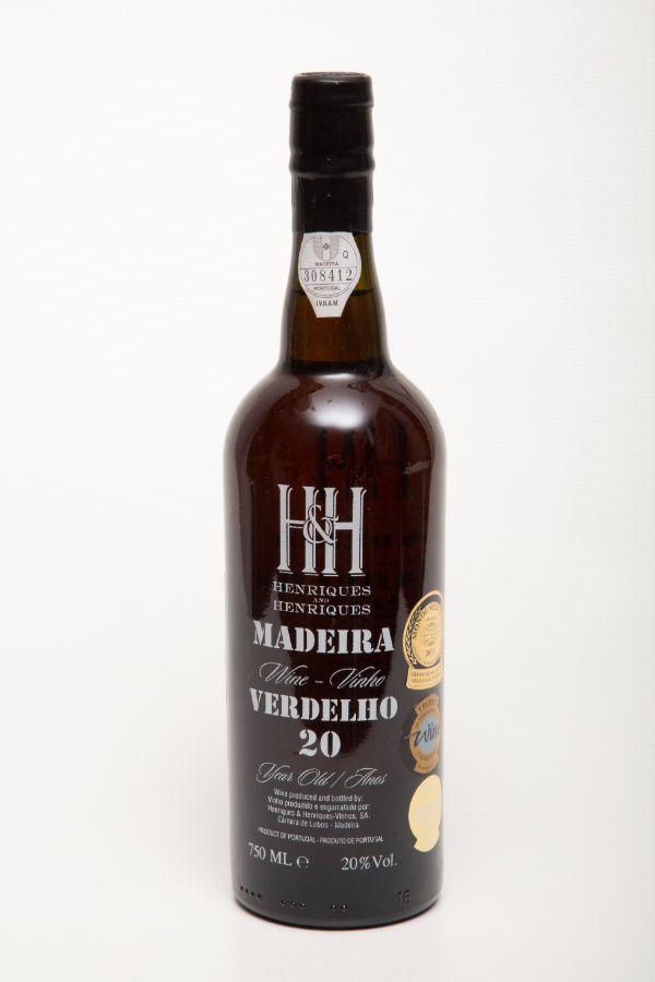 H&H Madeira Verdelho 20 Yr