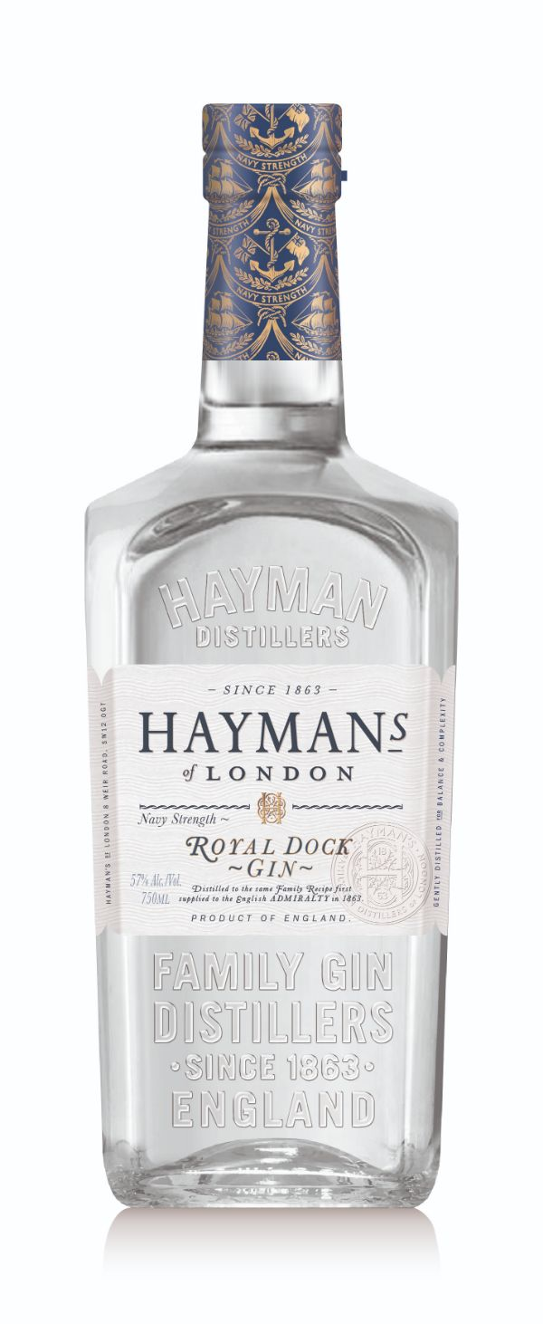 Hayman's Royal Dock Navy Strength Gin