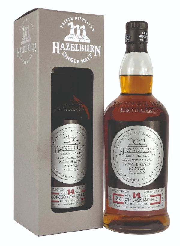 Hazelburn 14 Yr Oloroso Sherry Cask Single Malt
