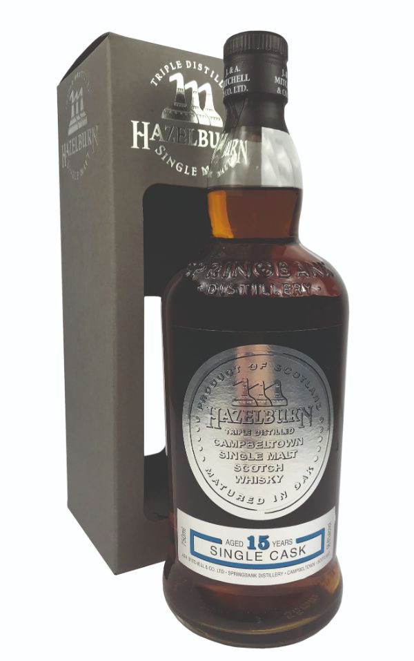 Hazelburn 15 Yr Refill Port Single Cask Single Malt Scotch