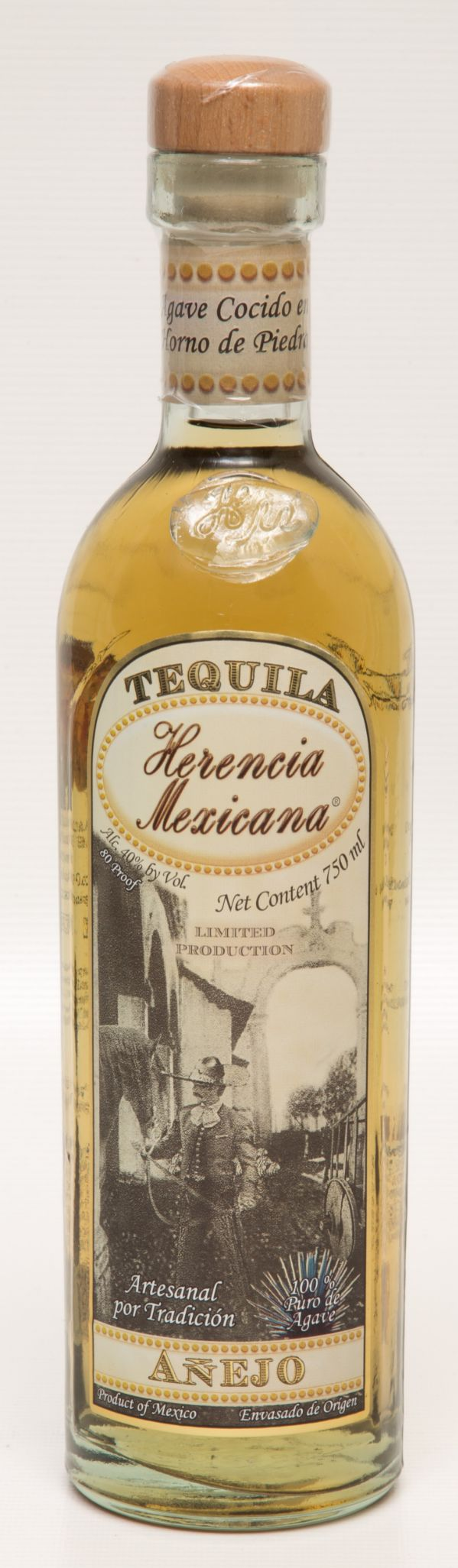 Herencia Mexicana Anejo Tequila