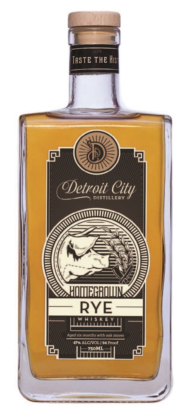 Detroit City Homegrown Rye Whiskey