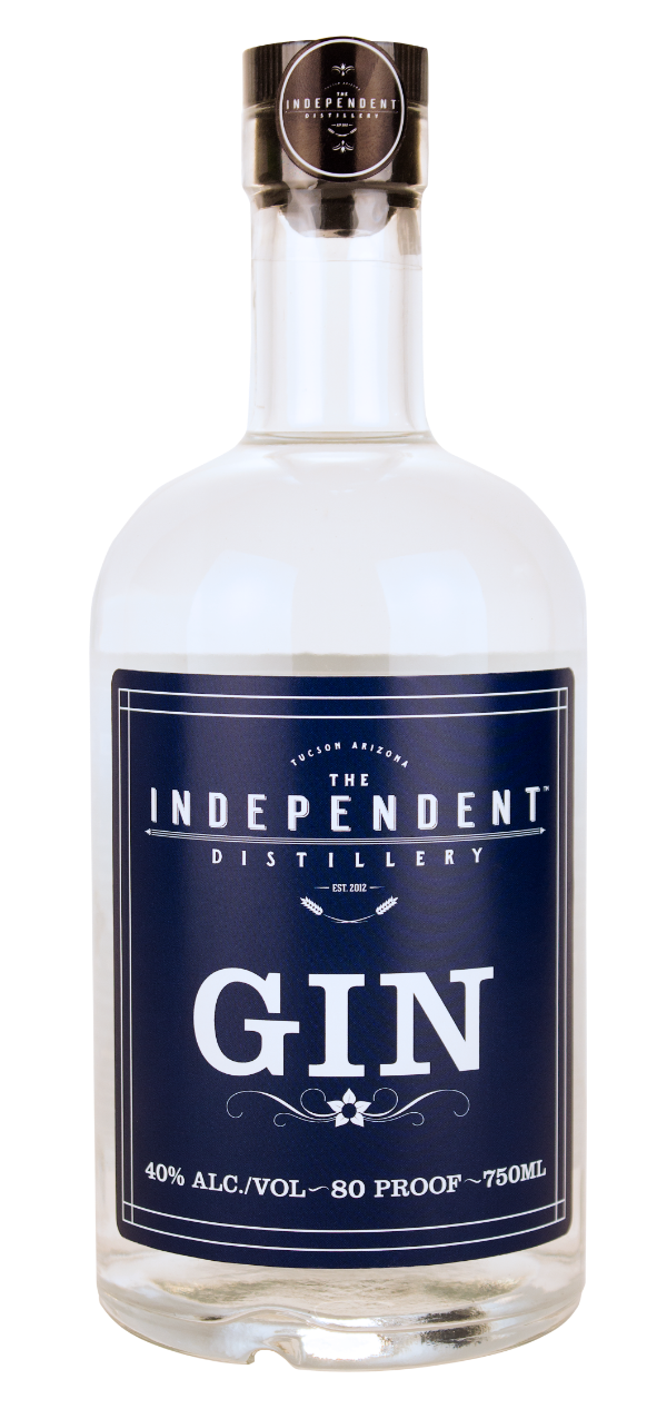 Independent Distillery 10 Botanical Blue Label Gin