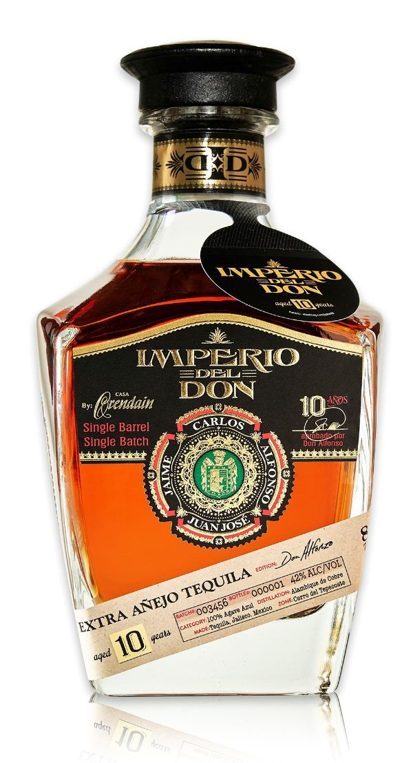 Imperio Del Don 100% Agave Extra Anejo 10 Yr Tequila