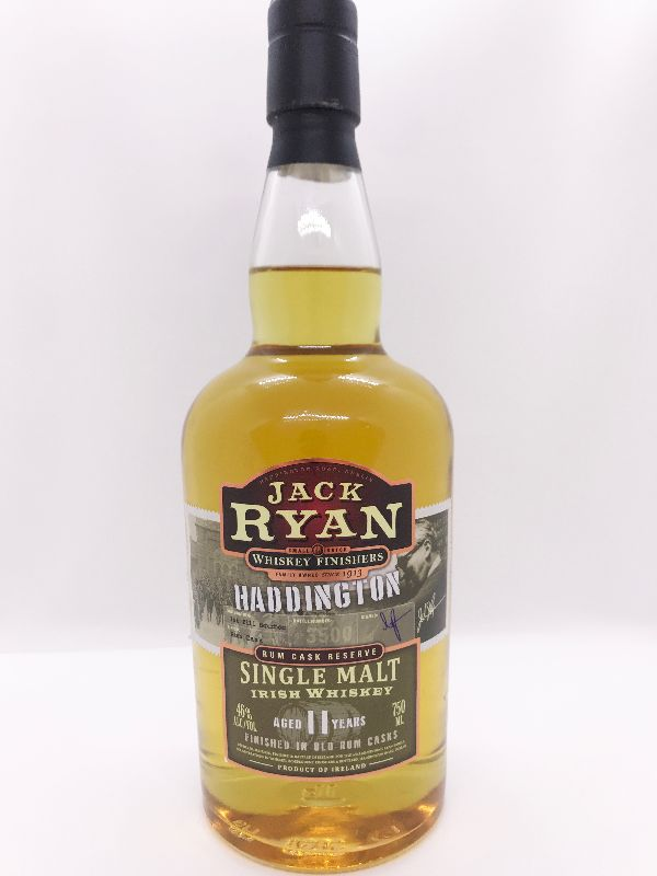 Jack Ryan Haddington 11 Yr Single Malt Irish Whiskey