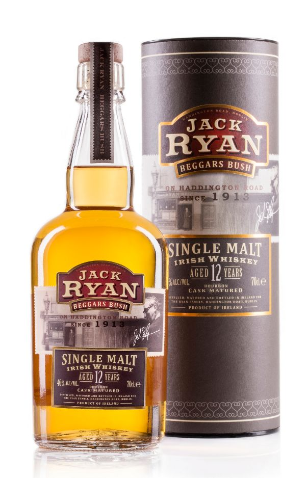 Jack Ryan 12 Yr Single Malt Irish