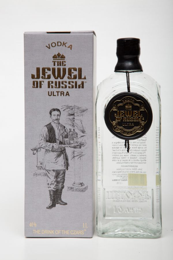 Jewel of Russia Ultra Black Label Vodka