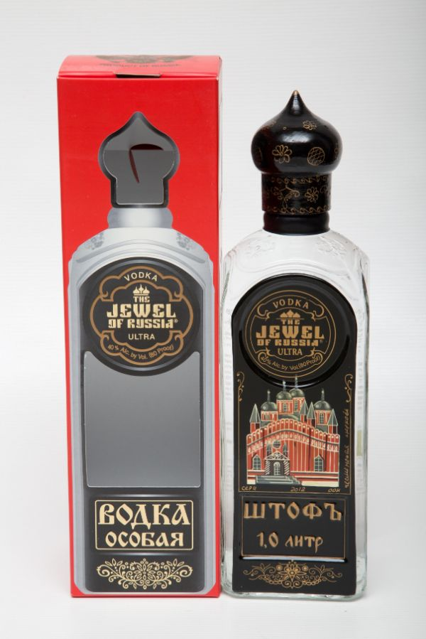 Jewel of Russia Ultra Limited Edition Vodka