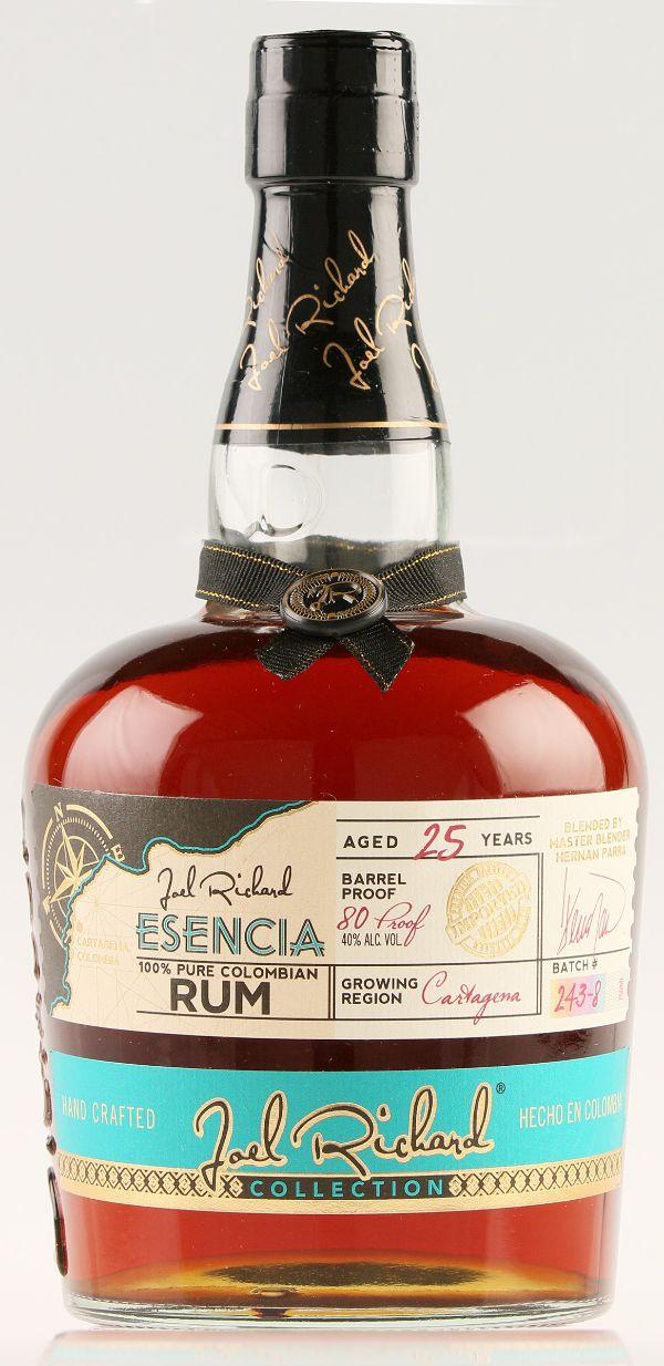 Joel Richard Escencia 25 Yr Colombian Rum