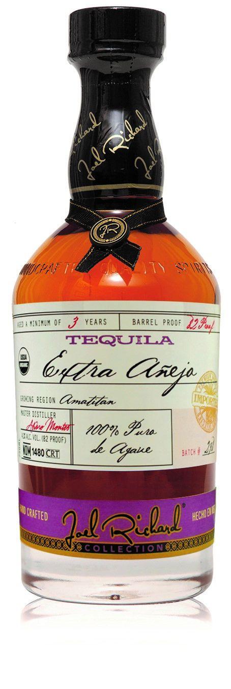 Joel Richard Extra Anejo Organic Tequila Batch 3