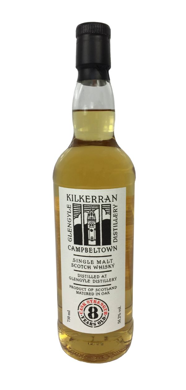 Kilkerran 8 Yr Cask Strength Single Malt