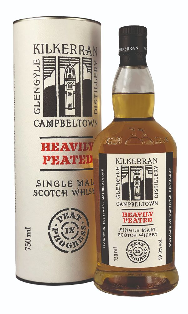 Kilkerran Heavily Peated Scotch Whiskey