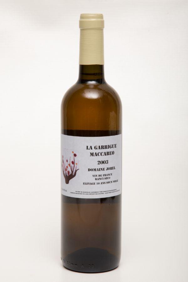 "Domaine Jorel ""La Garrigue"" Maccabeo 2003"