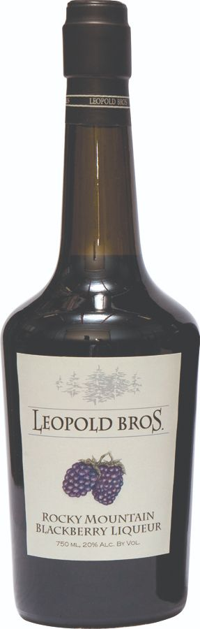 Leopold Bros. Rocky Mountain Blackberry Liqueur