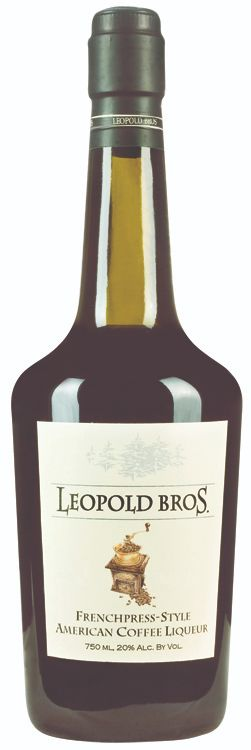 Leopold Bros. French Press Coffee Liqueur