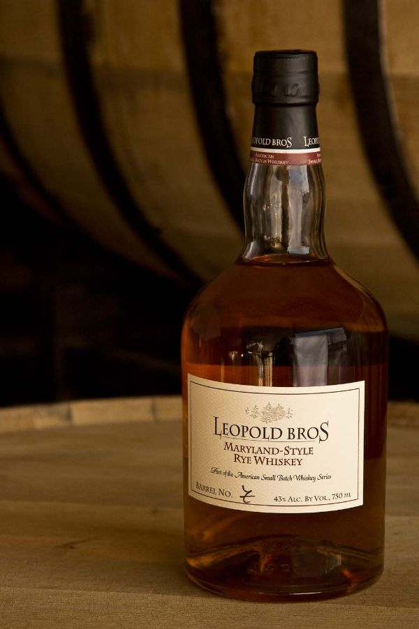 Leopold Bros. Maryland Style Rye Whiskey