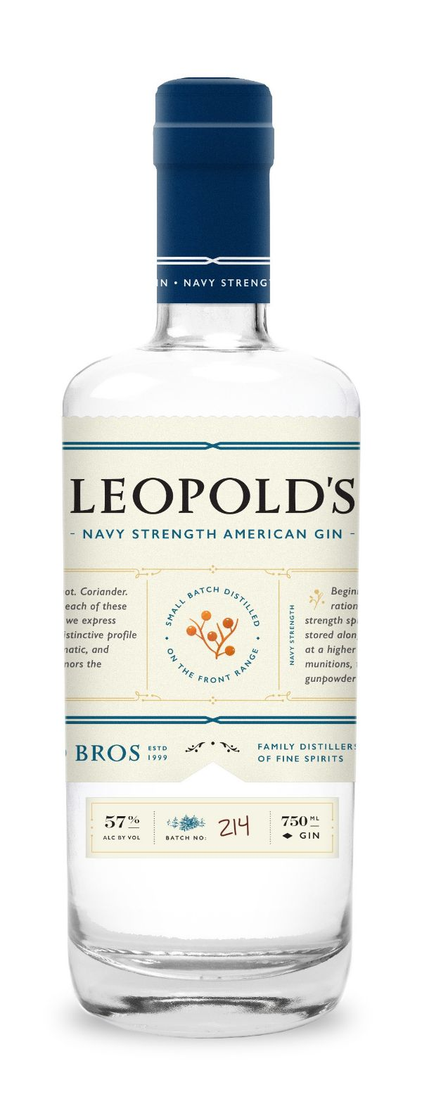 Leopold Bros. Navy Strength Gin