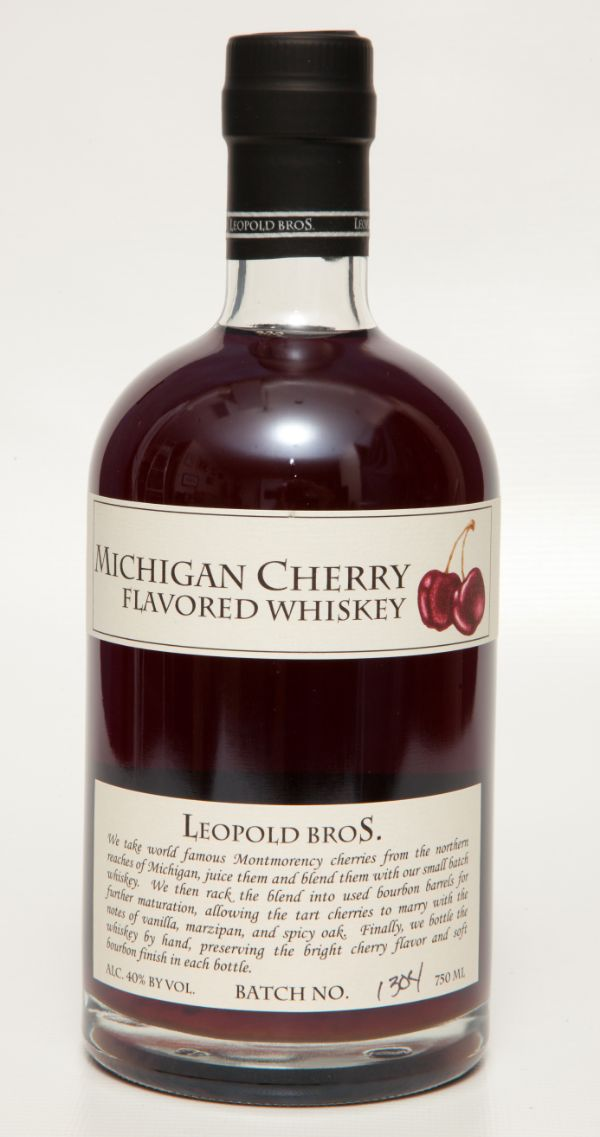 Leopold Bros. Michigan Cherry Whiskey
