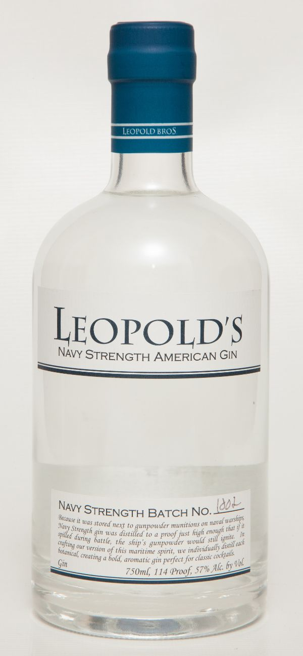 Leopold Bros. Navy Strength Gin