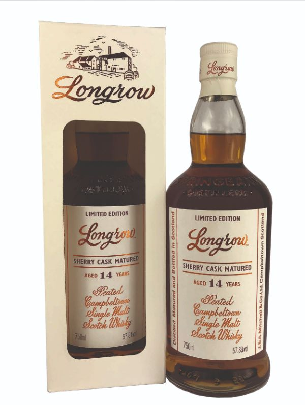 Longrow 14 Yr Sherry Cask Single Malt