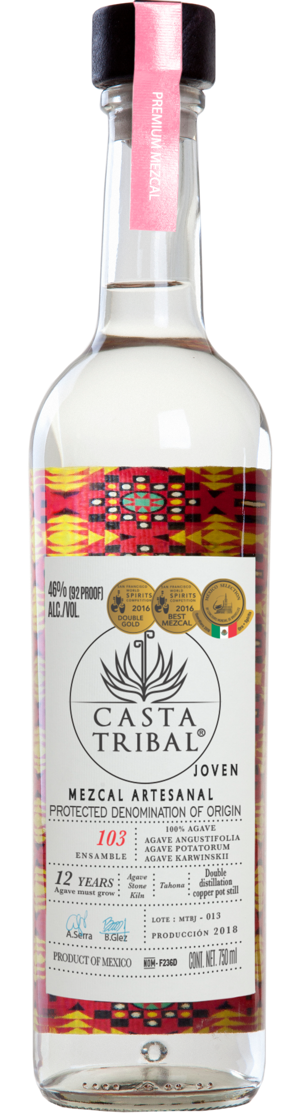 Casta Tribal Ensamble Mezcal 103
