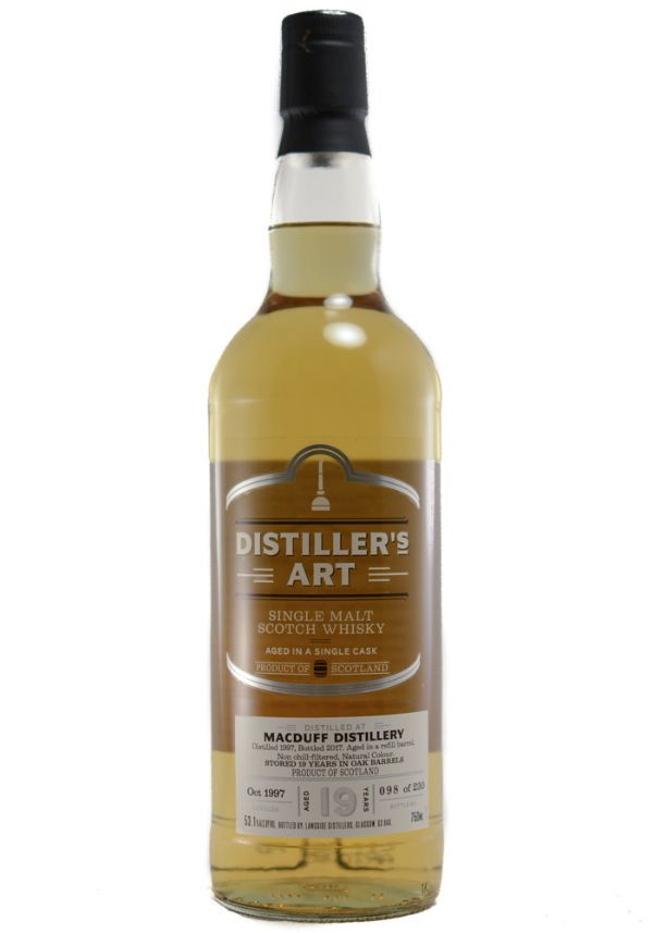 Distiller's Art Macduff 1997 19 Yr Single Malt