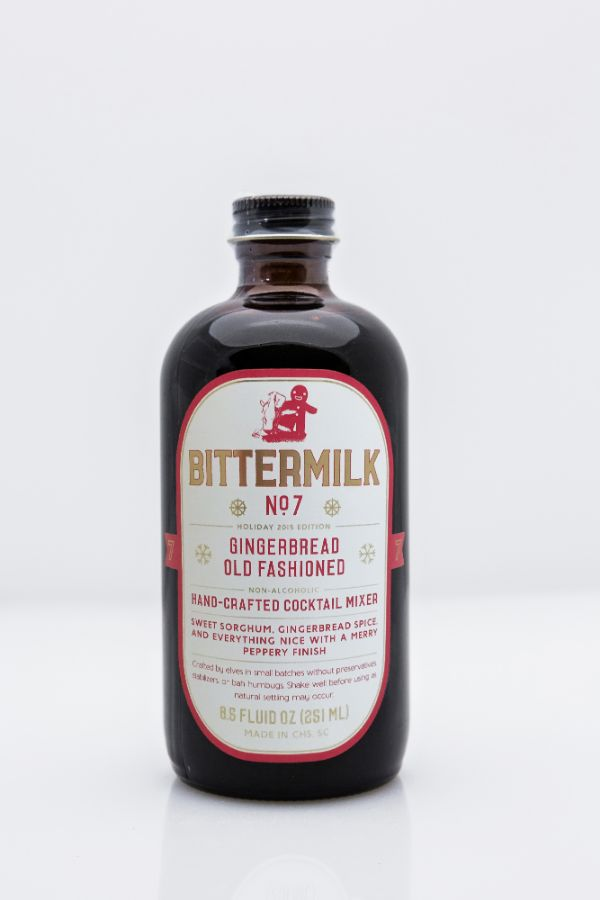 Bittermilk No. 7 Gingerbread Old Fashioned