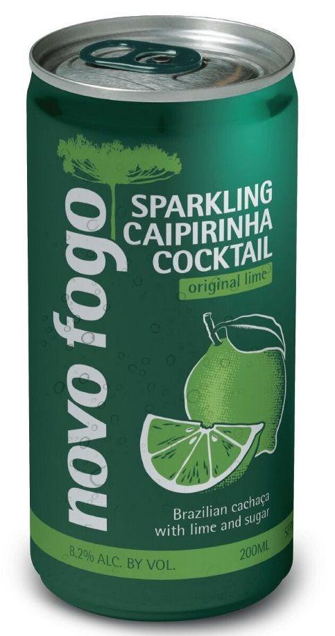 Novo Fogo Sparkling Caipirinha Cans