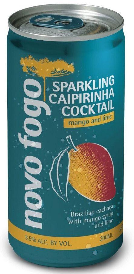 Novo Fogo Mango Sparkling Caipirinha Cans