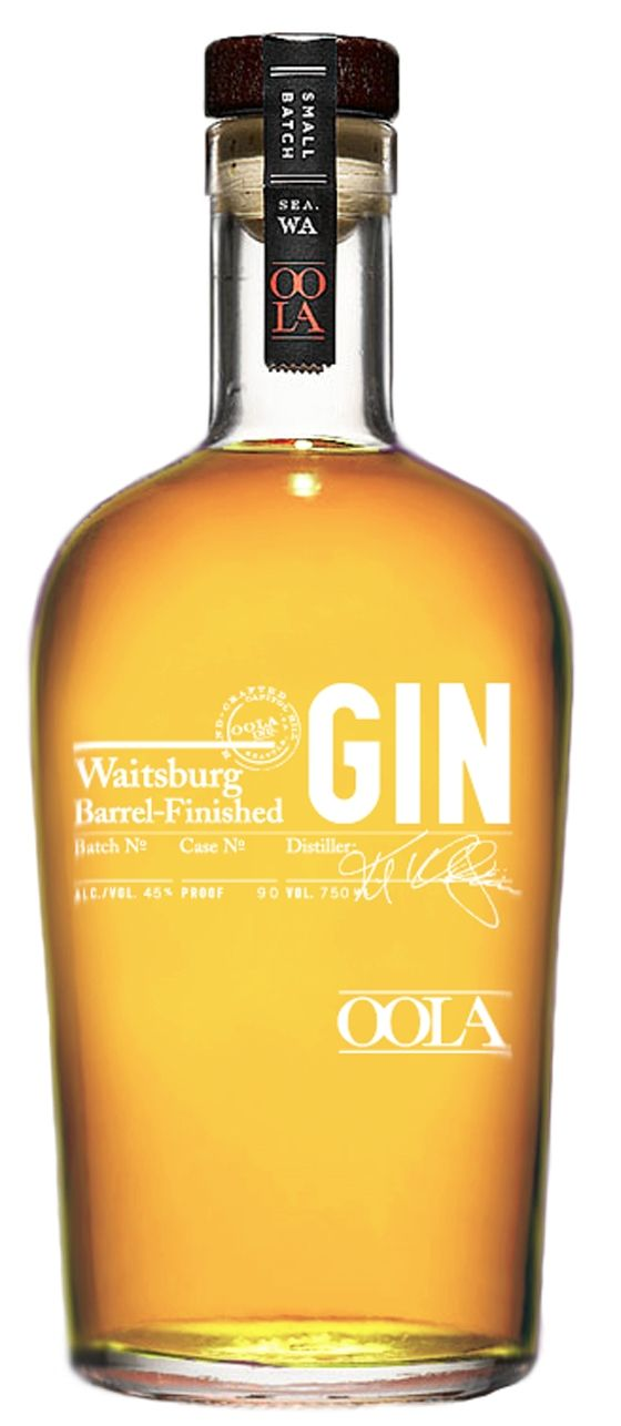 Oola Barrel Finished Gin