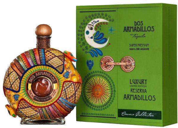 Dos Armadillos Extra Anejo Oaxaca Tequila