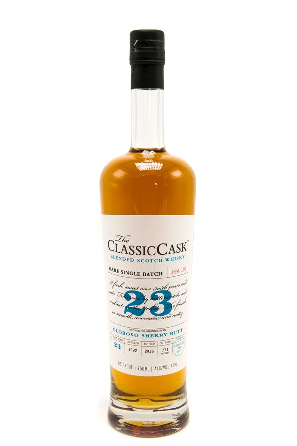 Classic Cask 23 Yr Oloroso Sherry Butt Finish Scotch