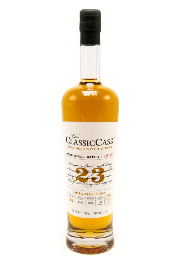 Classic Cask 23 Yr Original Cask Scotch