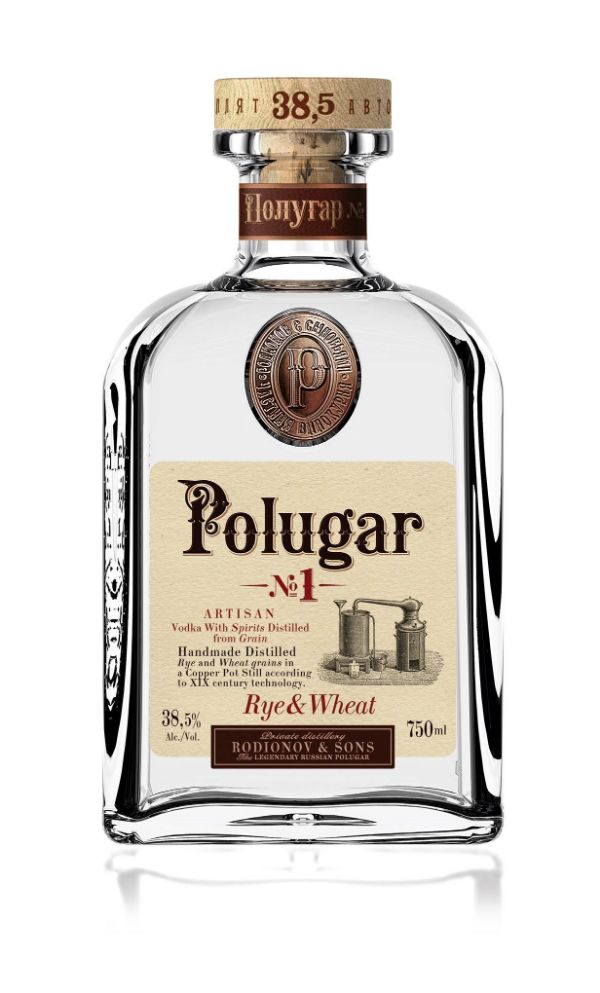 Polugar No.1 Rye & Wheat Vodka