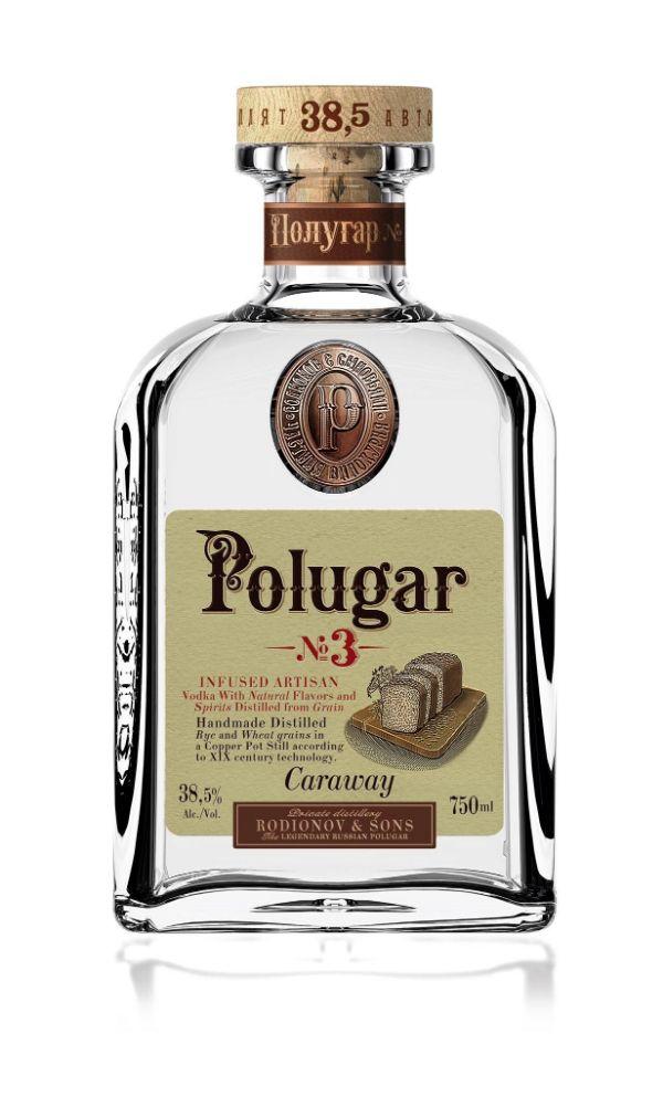 Polugar No.3 Caraway Vodka