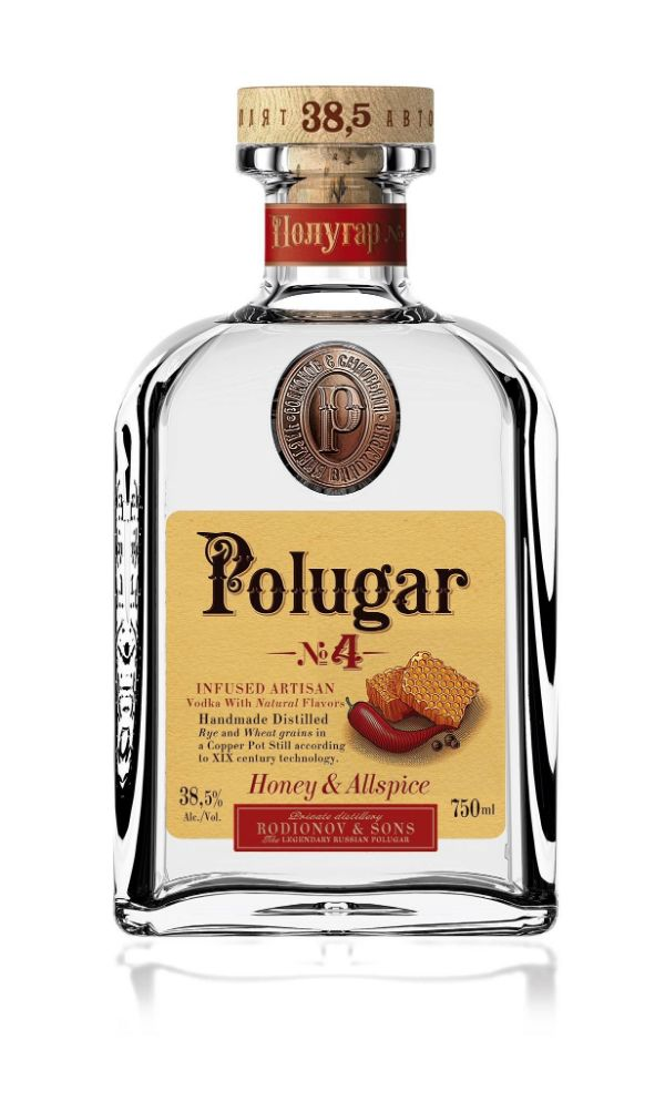 Polugar No.4 Honey & Allspice Vodka