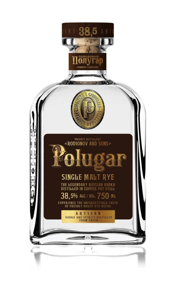 Polugar Single Malt Rye Vodka